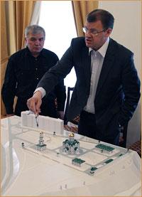 В Томском епархиальном управлении прошло выездное совещание руководства администрации г. Томска