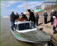 Начался 7-й миссионерский Крестный ход по рекам Томской области