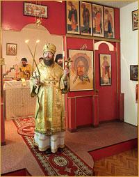 Архиепископ Ростислав совершил Божественную литургию в Академгородке