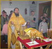 Миссионерский крестный ход достиг села Назино Александровского района Томской области