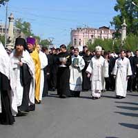 Крестный ход памяти святых равноапостольных Кирилла и Мефодия