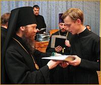 Праздник в честь обретения мощей св. праведного Феодора Томского — выпускной деньв Томской духовной семинарии