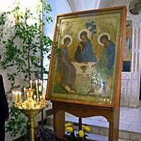 Праздник Пресвятой Троицы в Томске
