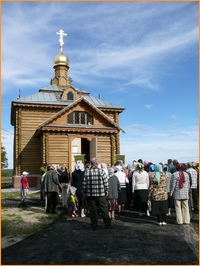 Завершился шестой миссионерский Крестный ход по рекам Томской области