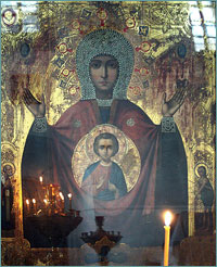 30 сентября в Томск прибывает чудотворная Абалацкая икона Божией Матери «Знамение»
