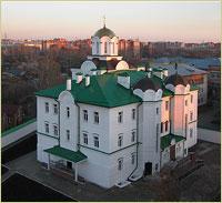 Архиепископ Ростислав совершил освящение нового храма в Томском Богородице-Алексиевском монастыре