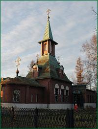 Архиепископ Ростислав совершил Божественную литургию  в храме преподобного Сергия Радонежского г. Томска