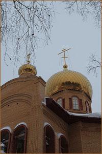 Божественная литургия в храме святого благоверного князя Александра Невского в с.Новониколаевка