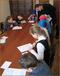 Воспитанники ТДС провели для томских школьников несколько мастер-классов, посвященных празднику Рождества Христова