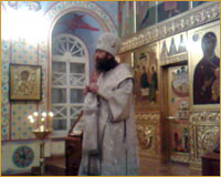 Архиепископ Ростислав совершил молебное пение на Новый год в Богоявленском кафедральном соборе