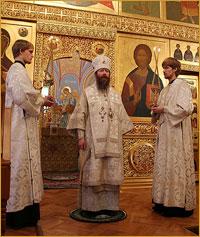 Слово архиепископа Томского и Асиновского Ростислава за Божественной литургией в Рождественский Сочельник (аудио)