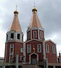 6 июля 2004 года престольный праздник Богородице-Владимирского храма г.Северска.