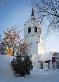 Архиепископ Ростислав совершил Божественную литургию в Богородице-Алексиевском монастыре г.Томска