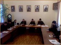 В Томской духовной семинарии состоялось заседание Учёного совета