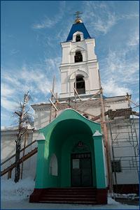 15 февраля 2011 года исполнилось 65 лет со дня возобновления богослужений в Свято-Троицком храме г. Томска
