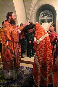 Архиепископ Ростислав удостоил церковных наград ряд клириков Томской епархии