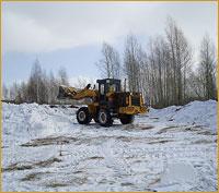 Началась разметка участка для строительства храма Новомучеников и исповедников Российских