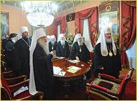 Архиепископ Томский и Асиновский Ростислав принял участие в заседании Священного Синода