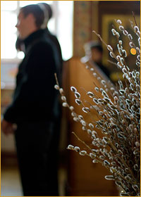 Накануне Вербного воскресения в Богоявленском кафедральном соборе г.Томска был совершен чин присоединения к Православию