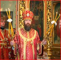 В Светлую Среду архиепископ Ростислав совершил Божественную литургию в Свято-Троицкой церкви г.Томска