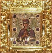 5 мая 2011 года в Томск прибывает чудотворная мироточивая икона Божией Матери «Умягчение злых сердец»