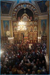 Томск встретил чудотворную икону Божией Матери