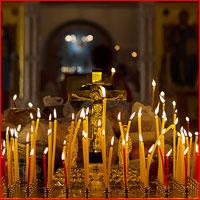 В День Победы архиепископ Ростислав совершил панихиду в Богоявленском кафедральном соборе