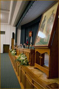 Торжественное открытие XXI Духовно-исторических Кирилло-Мефодиевских чтений (фото)