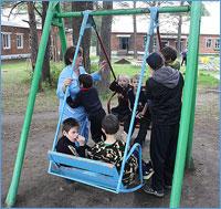 Православные северчане навестили воспитанников Тунгусовского детского дома-интерната