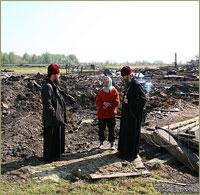 Томская епархия собрала более 400 тыс. рублей для пострадавших от пожара в д.Подоломск