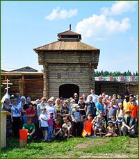 Участники Творческого клуба при Богородице-Алексиевском монастыре посетили Семилуженский острог