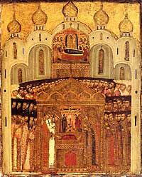 1 сентября в 18-30 встреча Ризы Христовой в Богоявленском соборе г. Томска