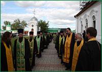 Торжества в честь св. праведного Феодора старца Томского начались в Богородице-Алексиевском монастыре