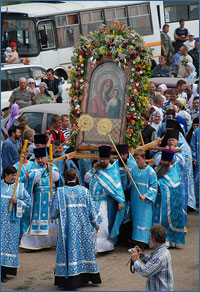 В дни празднования 100-летнего юбилея Петропавловского собора в Томске будет пребывать чудотворная икона Божией Матери