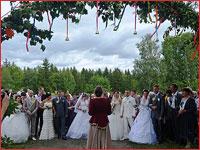 В Асиновском районе прошли праздничные мероприятия, посвященные празднуемому в России Дню семьи, любви и верности