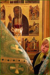 Праздник преподобного Серафима Саровского в Северске