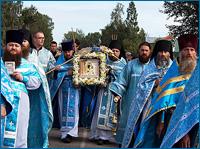 Томская епархия в третий раз празднует обретение Богородской иконы Божией Матери
