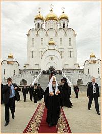 Архиепископ Ростислав посетил Магадан в рамках первосвятительского визита Святейшего Патриарха Кирилла