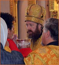 Престольный праздник в храме святого благоверного князя Александра Невского